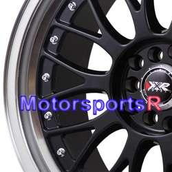 18 XXR 521 Black Machine Lip Rims Staggered Wheels Stance 06 Lexus