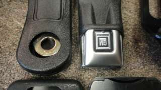 73 Pontiac Firebird Trans Am Front & Rear GM SEAT BELTS Black Full Set