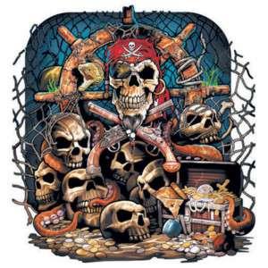 725c Barnacle Bill Pirate Heat Transfer Shirt Iron On