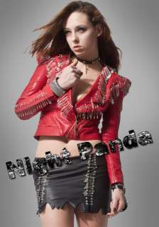 Pin Unique Psychobilly Punk Lady Jackets Coats Popular Stylish Warmth