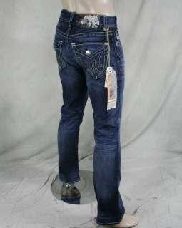 MEK Denim Jeans Mens BARODA medium Blue SLIM Bootcut