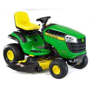 John DeereD140 48 in. 22 HP Hydrostatic Front Engine Riding Mower