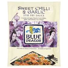 Blue Dragon Sweet Chilli And Garlic Stir Fry Sauce 120G   Groceries