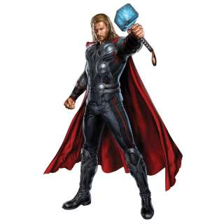 New GIANT THOR WALL DECAL Avengers Marvel Heroes Bedroom Stickers Boy