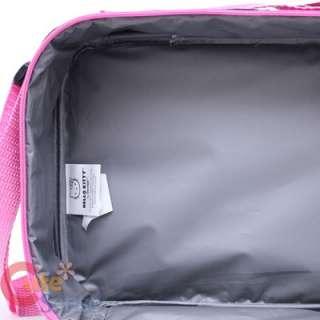 Lunch Bag / Snack Box Love Teddy Bear Black Pink 688955815841