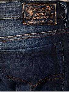 Diesel Jeans Mens Zathan 74W Bootleg New With Tag