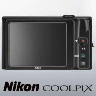 New Nikon Coolpix S6100 Digital Camera / Black 610696378156