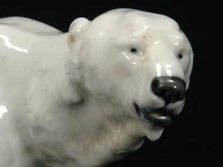 , Meißen, um 1900, Eisbär, Otto Jarl porcelain figure, ice bear