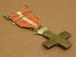 SPANISH CIVIL WAR MILITARY MERIT CROSS 1st CLASS