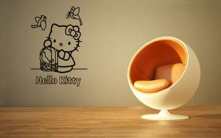 HELLO KITTY BABY KIDS ROOM NURSERY WALL VINYL STICKER DECALS ART MURAL