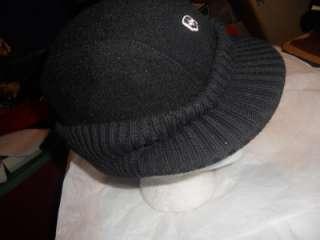 Wenger Swiss Army Black Wool Cap,L/XL