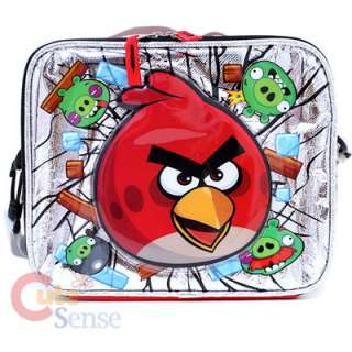 Angry Bird School Lunch Bag Red Bird Pig 1