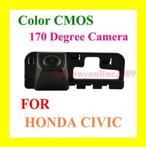 CAR REAR VIEW REVERSE PARKING BACKUP CMOS CAMERA FOR HONDA CIVIC 2008