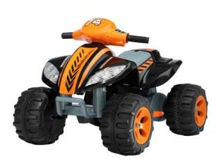 Electric ride on car kid/toddler quad bike mongoose little boy toy