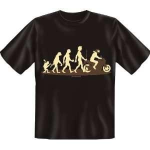 Fun T Shirt   T Shirt Evo Motorrad  Sport & Freizeit