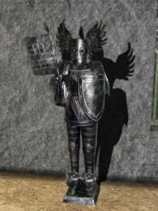 Foot Winged Cavaliere Suit of Armor Medieval Knight