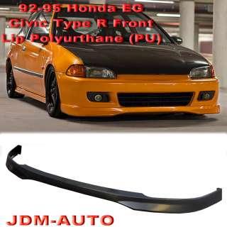 92 95 Honda Civic EG JDM Type R Front Lip Kit PU 2 Drs