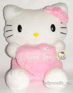 Neu Hello Kitty Plüsch süß plush sweet 28cm figur pink