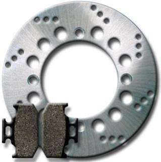 SUZUKI REAR Brake Disc Rotor + Pads DR 650 DR650 96 07