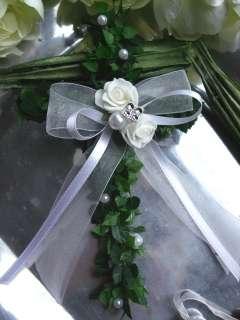 Kreuze Tischdeko Kommunion Konfirmation Taufe Firmung Rosen Schleife