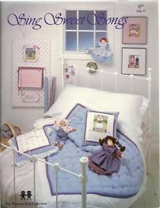 Cross Stitch Vanessa Ann Childrens Nursery Dolls Girls Classic