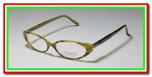 RENEE 509 48 14 135 GREEN HAVANA CAT EYES EYEGLASS/GLASSES/FRAMES CASE