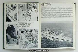 USS CAMDEN AOE 2 WESTPAC CRUISE BOOK 1970 1971