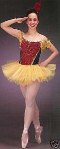 New STRIKE UP THE BAND Ballet Dance Costume SZ. CHOICE