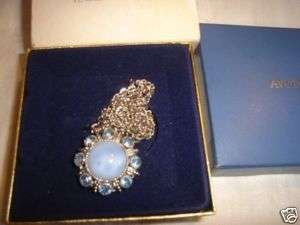 vintage AVON MOON MAGIC Pendant Necklace ORIG BOX 1974