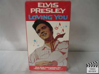 Loving You VHS NEW Elvis Presley, Lizabeth Scott