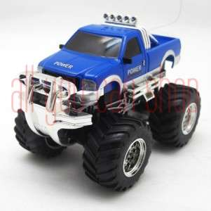 Mini Radio Remote Control RC Pickup Truck racing car 8