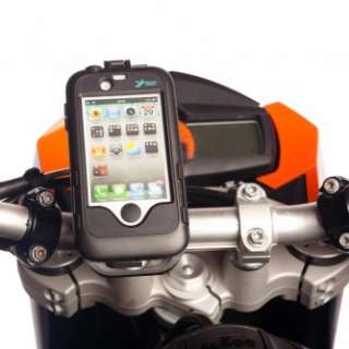 Motorcycle Handlebar M8 Bolt Mount with Iphone 4s 4 s Tough Waterproof