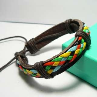 New Charm Wholesale Lots Wristband Genuine Handmade Leather Bracelet