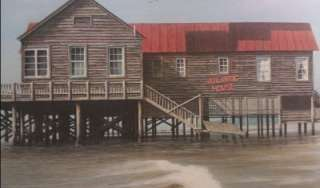 Jim Booth 1990 Atlantic House, Folly Beach SC Signed and Numbered 328