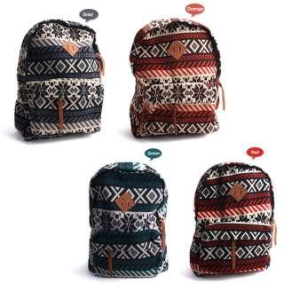 TitleNew Patterned Rucksack Backpack School College Bag Men Women Boy
