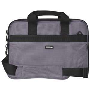 GRAY FITS UP TO 13IN LAPTOP NB CAS. Ballistic Nylon: Office Products