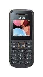 LG A100 Amigo O2 Pay As You Go Black Mobile Phone