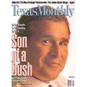 Monthly Magazine   Son of a Bush [May 1994]: Gregory Curtis: Books