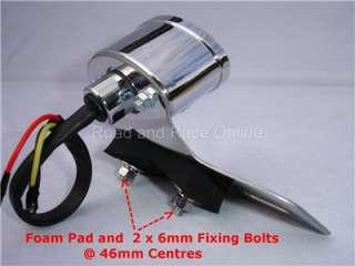 CHROME LED Rear Light Stop Light Tail Light 12v ST DAX Project