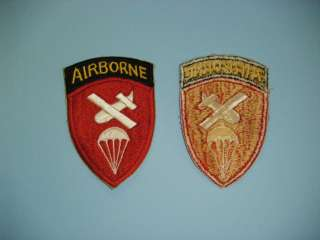 b0148 WW 2 US Army Airborne Command patch
