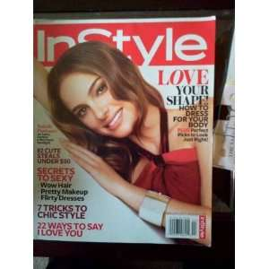 InStyle Magazine, February 2011, 7 tricjs ti Chix Style non Books