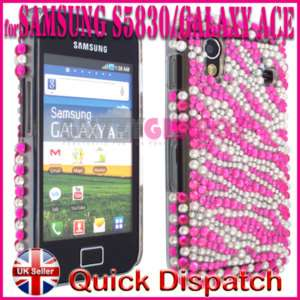 BLING DIAMOND CASE COVER FOR SAMSUNG GALAXY ACE S5830