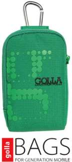 NEW GOLLA G1144 GREEN GAGE DIGI BAG DIGITAL CAMERA CASE BAG