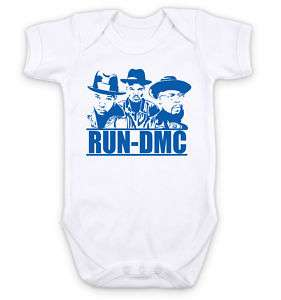 CLASSIC RUN DMC RAP HIP HOP MUSIC   Baby Grow Bodysuit