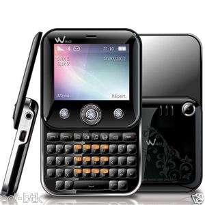 Portable Wiko Duelle Swarovski Double Carte Dual SIM Noir Mobile NEUF