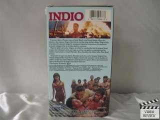 Indio VHS Francesco Quinn, Brian Dennehy, Marvin Hagler 086112258638