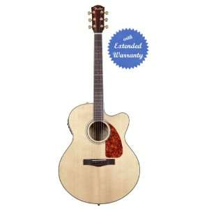 Fender CJ 290SCE Jumbo Cutaway Acoustic Guitar with Gear