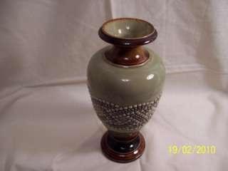 Doulton Lambeth Stoneware Vase.