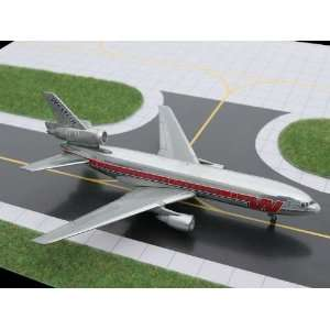 Gemini Jets Western Airlines DC 10 Model Airplane