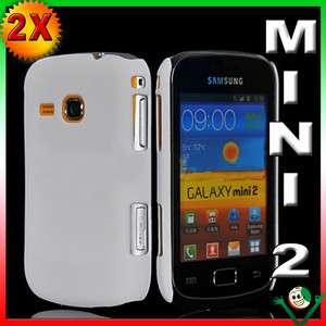 + Custodia cover BIANCA per Samsung Galaxy Mini 2 S6500 back rigida